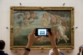 """Sandro Botticelli - """"La nascita di Venere"""" 1482-1485"""
