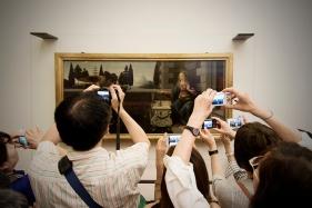 """Leonardo da Vinci - """"L'annunciazione"""" 1475"""
