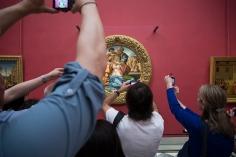 "Michelangelo Buonarroti - ""Tondo Doni"" 1504-1506"