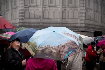 rainy days in florence