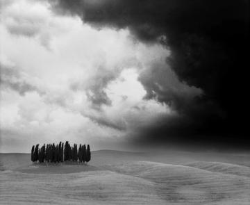 Tuscany's thunderstorm